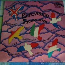Discos de vinilo: 'EUROVISION SOUVENIRS' (LA,LA,LA ,PUPPET ON A STRING, CONGRATULATIONS, NON HO L'ETA,VOLARE,...) . Lote 14496834