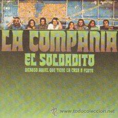 Discos de vinilo: LA COMPAÑIA EL SOLDADITO / DICHOSO AQUEL QUE TIENE LA CASA A FLOTE RF-2763. Lote 104595274