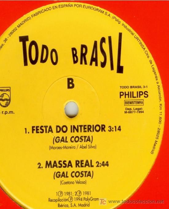 Discos de vinilo: TODO BRASIL * UNA HISTORIA DE IFÁ (EJIGBÓ) * MAXI VINILO * PHILIPS * ULTRARARO!!! * NUEVO - Foto 2 - 38949482