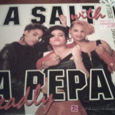 Discos de vinil: SALT 'N PEPA / A SALT WITH A DEADLY PEPA / 1988 NEXT PLATEAU RECORDS/ PEPETO. Lote 23110695