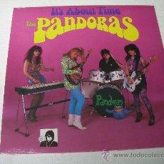 Discos de vinilo: LP THE PANDORAS ITS ABOUT TIME GARAGE REVIVAL VINILO. Lote 135822150