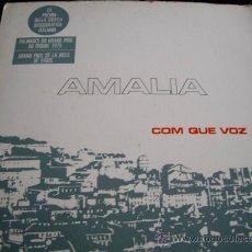 Disques de vinyle: AMALIA RODRIGUEZ-COM QUE VOZ-COLUMBIA . Lote 22015805
