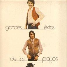 Discos de vinilo: LP LOS PAYOS - EXITOS - INCLUYE TEMAS DE BOB DYLAN, BENITO MORENO Y E.RODWAY, DE TRIANA . Lote 25302032