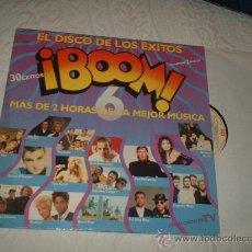 Discos de vinilo: DOBLE LP BOOM EL DISCO DE LOS EXITOS. Lote 14557332