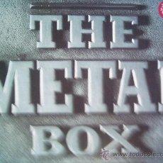 Discos de vinilo: THE METAL BOX(BLACK SABBATH,DEEP PURPLE Y OTROS) DEL 91 4 LP. Lote 30419529