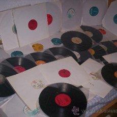 Discos de vinilo: VVAA - TECHNO - POP (SIMPLE MINDS, JOHN FOXX, …) - PROMO . EURODISC1982. Lote 24992913