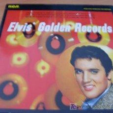Discos de vinilo: ELVIS PRESLEY ( GOLDEN RECORDS ) LP RCA ALEMANIA 1958 ( VG+ / VG+ ) NL81707. Lote 23684198