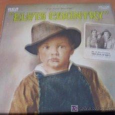 Discos de vinilo: ELVIS PRESLEY ( ELVIS COUNTRY) LP RCA ALEMANIA 1971 ( VG+ / EX ) LSP 4460. Lote 14594719
