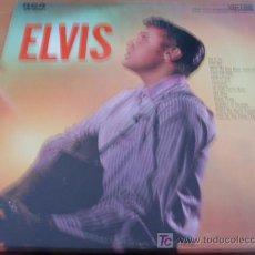 Discos de vinilo: ELVIS PRESLEY (ELVIS) LP RCA USA 1971 ( EX+/ NM ) LSP 1382E M2PY-3S ORANGE LABEL. Lote 27299775