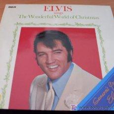 Discos de vinilo: ELVIS PRESLEY (THE WONDERFUL WORLD OF CHRISTMAS ) LP ALEMANIA 1971 ( EX / EX ) LSP 4579. Lote 14605979