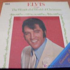 Discos de vinilo: ELVIS PRESLEY (THE WONDERFUL WORLD OF CHRISTMAS ) LP ALEMANIA 1971 LSP 4579 ( EX / EX ) . Lote 14606406
