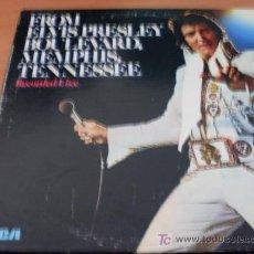 Discos de vinilo: FROM ELVIS PRESLEY BOULEVARD, MEMPHIS, TENNESSEE USA 1976 APL1-1506( EX / EX ) . Lote 14606517