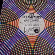 Discos de vinilo: EP-LOS RELAMPAGOS. Lote 14594409