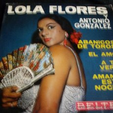 Discos de vinilo: LOLA FLORES-EP. Lote 14595060