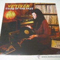 Discos de vinilo: LP VETIVER THINGS OF THE PAST VINILO FOLK. Lote 135824342