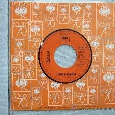 Discos de vinilo: CECILIA - FUI / DAMA DAMA - SINGLE CBS 1972 - NO TIENE CARÁTULA. Lote 24700399