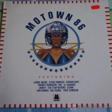 Discos de vinilo: 'MOTOWN 86' (STEVIE WONDER, MARVIN GAYE, SMOKEY ROBINSON, THE TEMPTATIONS,PAL,...) 1986 LP33. Lote 14608861