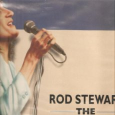 Discos de vinilo: 2 LP´S DE ROD STEWART: THE ROCK ALBUM + THE BALLAD ALBUM. Lote 25331989
