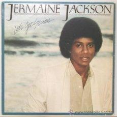 Discos de vinilo: JERMAINE JACKSON LET´S GET SERIOUS LP MOTOWN 1980. Lote 14655466