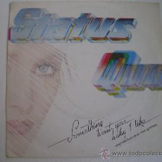Discos de vinilo: STATUS QUO - SOMETHING ABOUT YOU BABY I LIKE (1.980). Lote 24360222