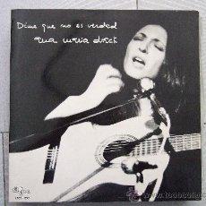 Discos de vinilo: ANA MARIA DRACK - DIME QUE NO ES VERDAD - LP GMA 1973 - 10 CANCIONES - DOBLE PORTADA CON LAS LETRAS. Lote 24571830