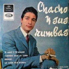 Discos de vinilo: CHACHO Y SUS RUMBAS - EP, 1965. Lote 26951818