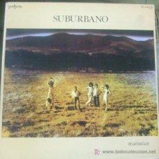 Discos de vinilo: LP SUBURBANO: MARISMAS, ORIGINAL PORTADA DOBLE. Lote 20553852