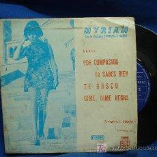 Discos de vinilo: - MYRIAM CON LA ORQUESTA FANTASIA Y NARBO - POR COMPASIÓN+3 - BCD 1971. Lote 18608892
