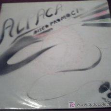 Disques de vinyle: ALPACA /SINGLE PROMOCIONAL/NAVIDADES BLANCAS + MIRA QUE ERES LINDA/ PEPETO. Lote 21618582
