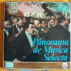 Discos de vinilo: LP-PANORAMA DE MUSICA SELECTA-CAJA CON 8 LP'S-SELECCION DE READER'S DIGEST - RCA 1962. Lote 26831949