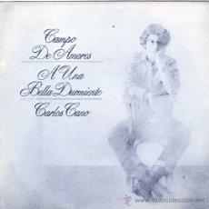 Discos de vinilo: UXV CARLOS CANO SINGLE VINILO 45 RPM CANTAUTOR CAMPO DE AMORES ARMONIA ANDALUZA TANGUILLO 1980. Lote 27069469