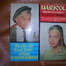Discos de vinilo: MARISOL HA LLEGADO UN ANGEL. Lote 16612342
