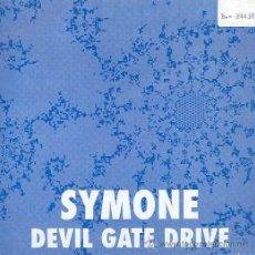 Discos de vinilo: SYMONE - DEVIL GATE DRIVE (RADIO MIX Y EXTENDED MIX) - SINGLE ESPAÑOL DE 1993. Lote 14749892