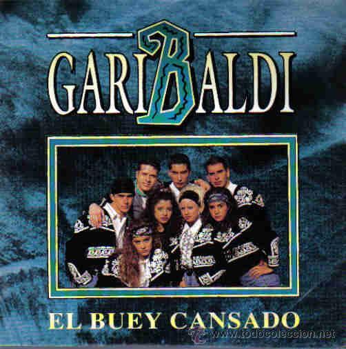 GARIBALDI-EL BUEY CANSADO SINGLE VINILO 1992 PROMOCIONAL SPAIN (Música - Discos - Singles Vinilo - Grupos y Solistas de latinoamérica)