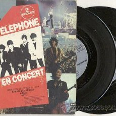 Discos de vinilo: TELEPHONE EN CONCERT // SINGLE DOBLE + DOBLE PORTADA 45 RPM / EDITADO POR EMI. Lote 23146592