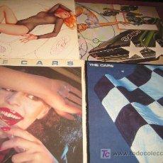 Discos de vinilo: LOTE DE CUATRO LPS . THE CARS . Lote 14759184