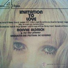 Discos de vinilo: RONNIE ALDRICH,INVITATION TO LOVE DEL 73. Lote 14766607