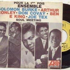 Discos de vinilo: SINGLE 45 RPM / THE SOUL CLAN / SOUL MEETING // EDITADO POR ATLANTIC . Lote 14785061
