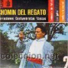 Discos de vinilo: CHOMIN DEL REGATO . NARRACIONES COSTUMBRISTAS VASCAS . SINGLE EP2. Lote 24199948