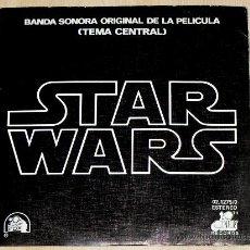 Discos de vinilo: STAR WARS. BANDA SONORA ORIGINAL DE LA PELICULA (TEMA CENTRAL). ORIGINAL DEL 1977. Lote 14801402