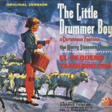 Discos de vinilo: HARRY SIMEONE - EL PEQUEÑO TAMBORILERO / VILLANCICO / NOCHE DE PAZ / ADESTE FIDELES - EP 1965. Lote 14927531