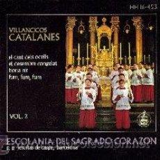 Discos de vinilo: VILLANCICOS CATALANES, VOL. 2 (HISPA VOX HH 16-453, 1963 . Lote 24120448