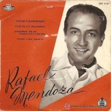 Discos de vinilo: RAFAEL MENDOZA EP SELLO HISPAVOX. Lote 24132246