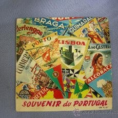 Discos de vinilo: INTERESANTE SINGLE DE FADO SOUVENIR DE PORTUGAL, 4 CANCIONES AÑOS 50-60. CON ISABEL DE OLIVEIRA Y.... Lote 20418842