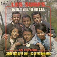 Discos de vinilo: LOS SURFS EP SELLO TEMPO AÑO 1967 EN ESPAÑOL. Lote 14832278