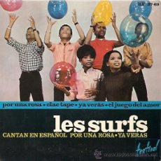Discos de vinilo: LOS SURFS EP SELLO HISPAVOX AÑO 1965 EN ESPAÑOL. Lote 14832294