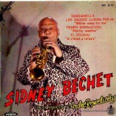 Discos de vinilo: SIDNEY BECHET SIDNEY BECHET DARDANELLA 1950. Lote 26648789