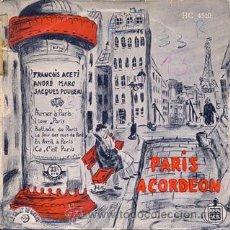 Discos de vinilo: LE CHANT DU MONDE - PARIS ACORDEON. Lote 27448357
