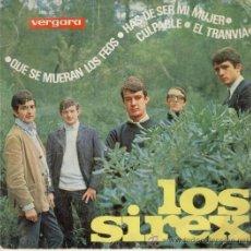 Discos de vinilo: LOS SIREX - QUE SE MUERAN LOS FEOS - EP. Lote 27505932