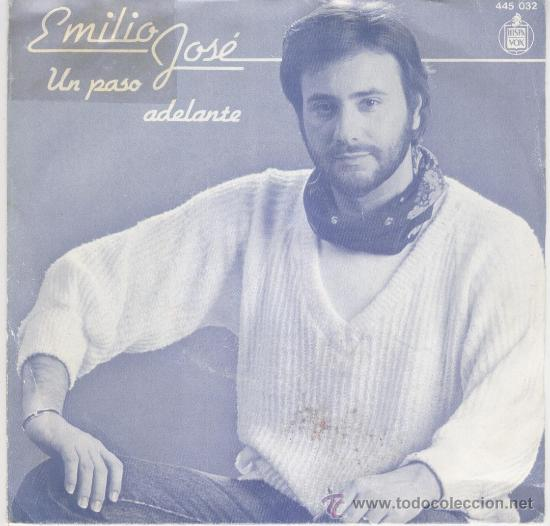 EMILIO JOSE - UN PASO ADELANTE - SINGLE (Música - Discos - Singles Vinilo - Solistas Españoles de los 50 y 60)
